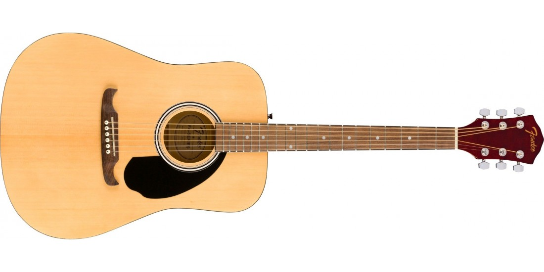 Fender FA-125 Dreadnought with bag Walnut Fingerboard Natural