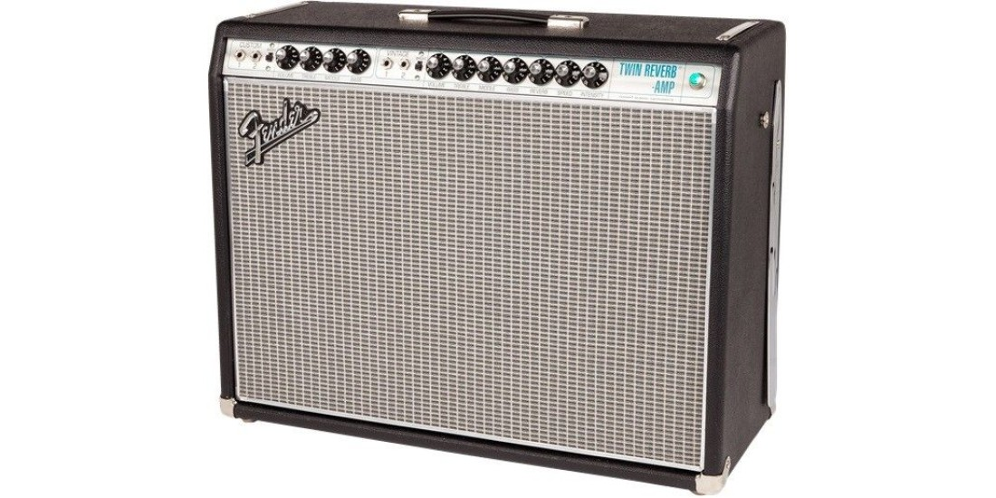 Fender 68 Custom Twin Reverb Electric Guitar Amplifier