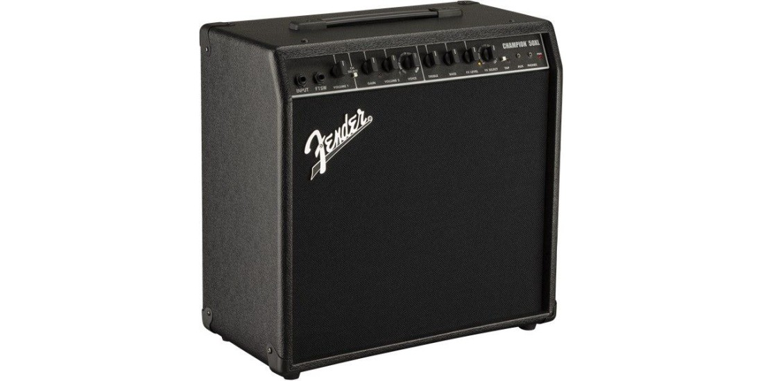 Fender Champion 50XL 50W Guitar Combo Amp with Effects
