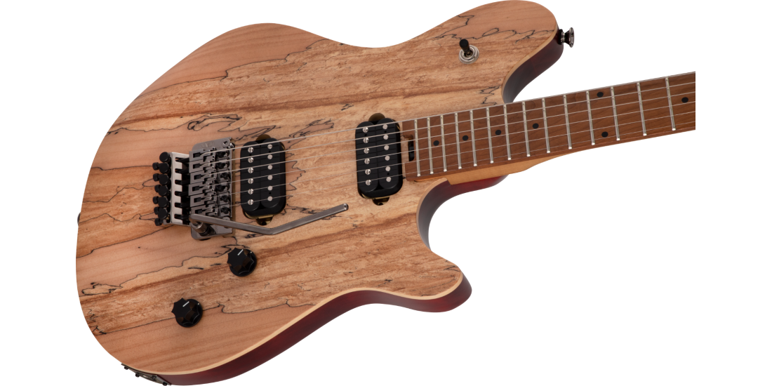 EVH Wolfgang Standard Exotic Baked Maple Fingerboard Spalted Maple