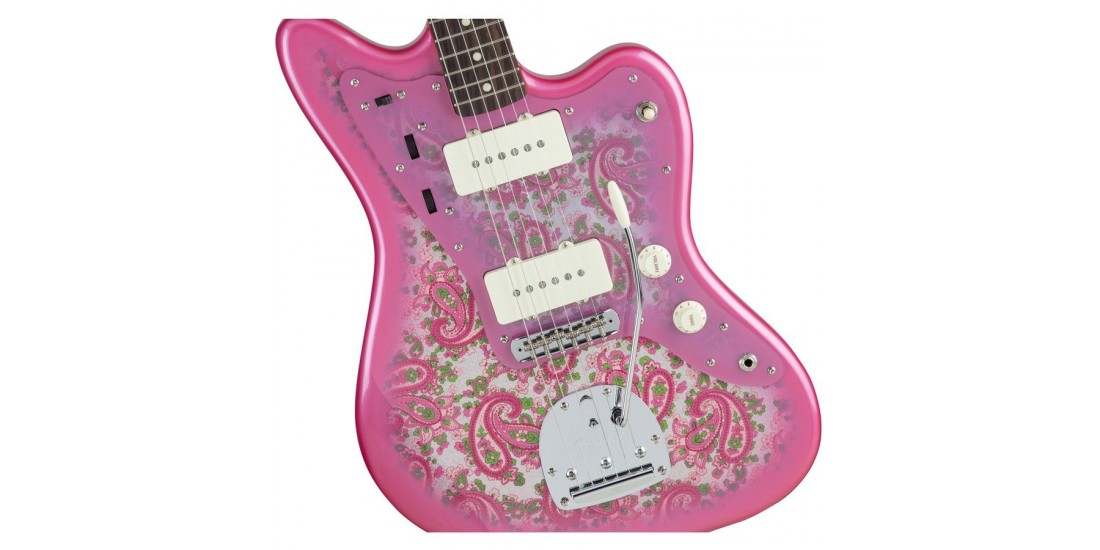 Fender Traditional 60s Jazzmaster Pink Paisley