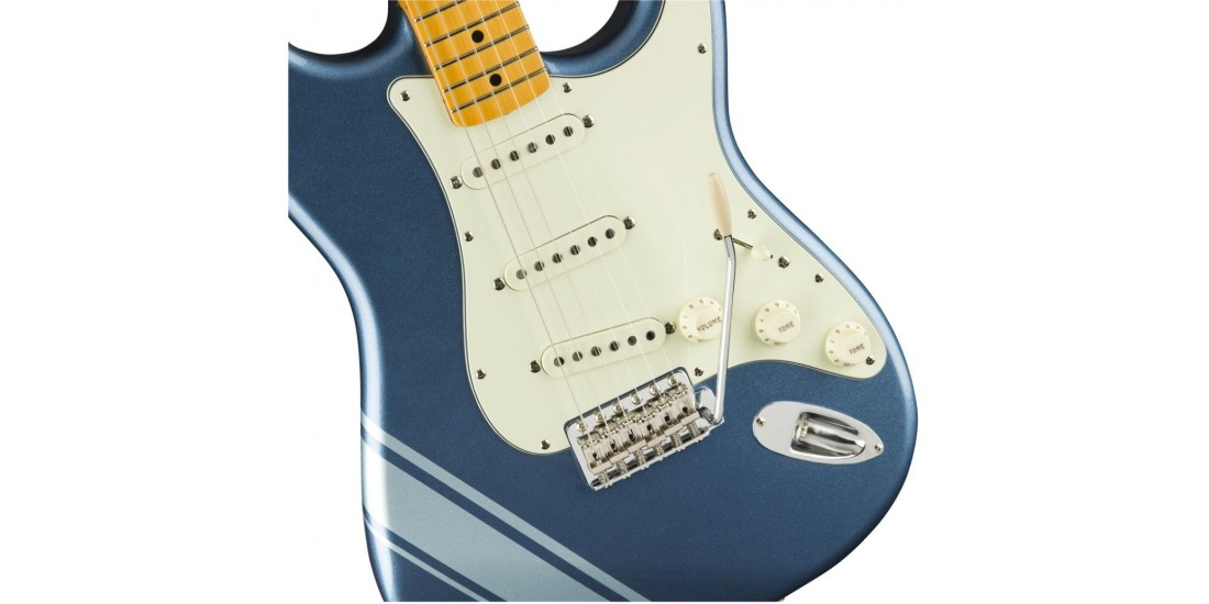 Open Box - Fender FSR Traditional 50s Stratocaster Lake Placid Blue Ice Blue Metallic Stripes