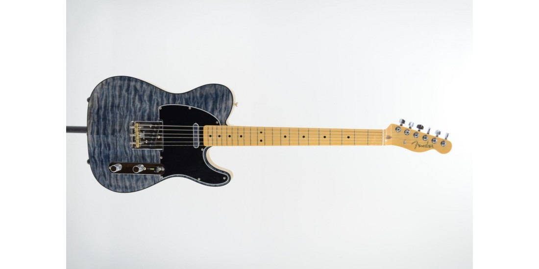 Fender Rarities Quilt Maple Top Telecaster Maple Neck Blue Cloud Serial Number LE067470 7.2 Lbs