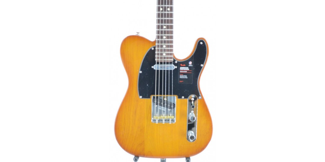 Fender American Performer Telecaster Honey Burst Serial #US20028639 7.7lbs