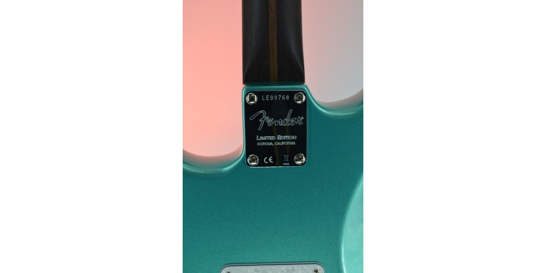 Fender Rarities Series Thinline Stratocaster Mystic Seafoam Green Serial #LE09768 7.1lbs