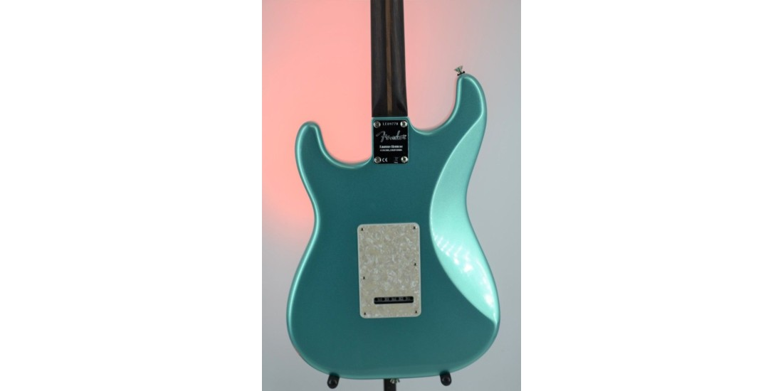 Fender Rarities Series Thinline Stratocaster Mystic Seafoam Green Serial #LE09778  7.35lbs
