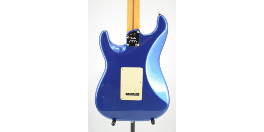 Fender American Ultra HSS Stratocaster Rosewood FB Cobra Blue Serial US20039512 8.35lbs