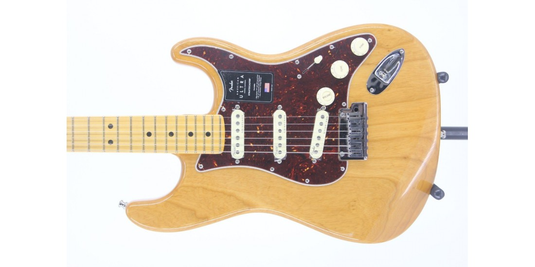 Fender American Ultra Stratocaster Maple FB Aged Natural Serial# US19071342 8.5lbs