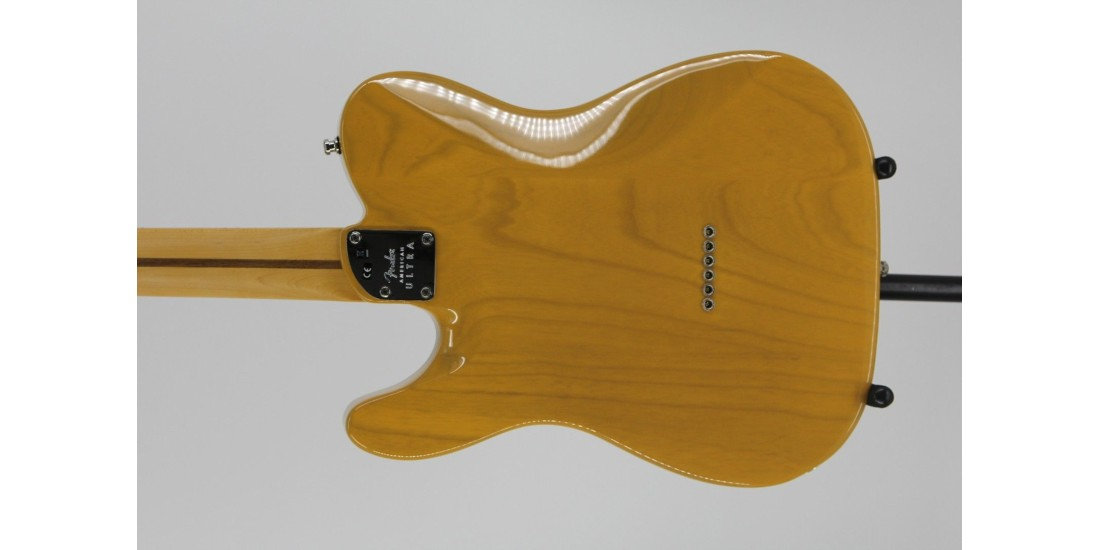 Fender American Ultra Telecaster Maple Fingerboard Butterscotch Blonde