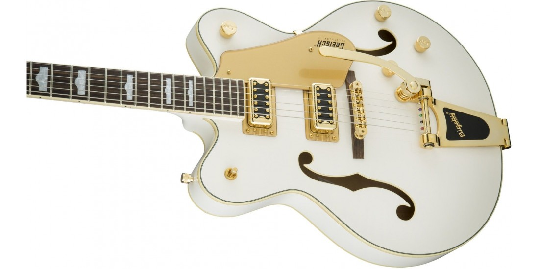 Demo - Gretsch G5422TG Electromatic Series Guitar Snow Crest White