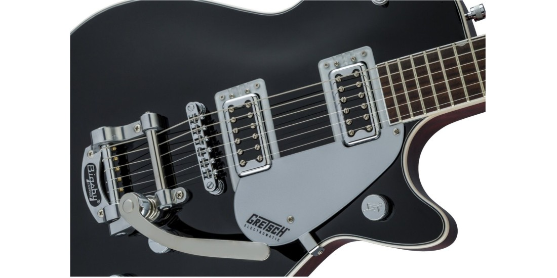 Gretsch G5230T Electromatic Jet FT Single Cut with Bigsby Black Walnut Fingerboard Black