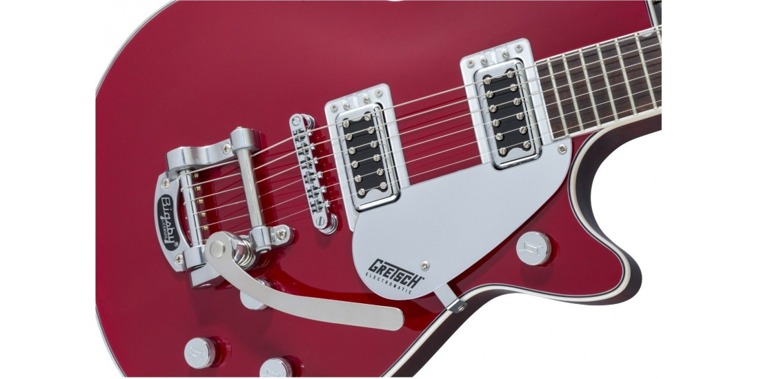 Gretsch G5230T Electromatic Jet FT Single Cut with Bigsby Black Walnut Fingerboard Firebird Red - Open Box