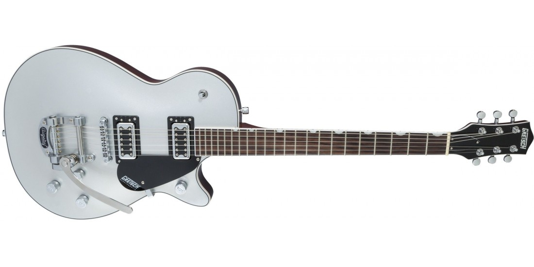 Open Box - Gretsch G5230T Electromatic Jet FT Single Cut with Bigsby Black Walnut Fingerboard Airline Silver