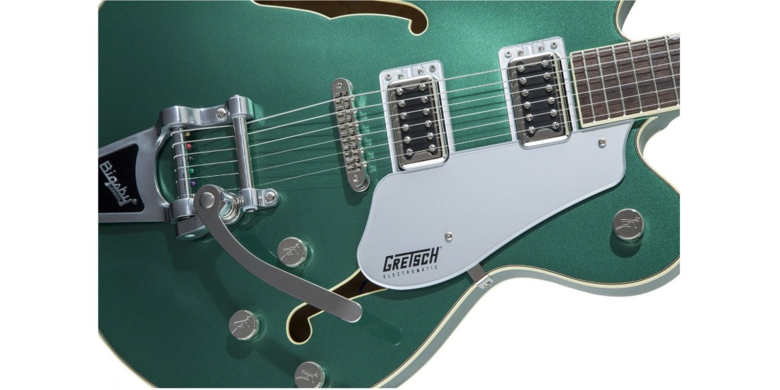 Gretsch G5622T Electromatic Center Block Double-Cut with Bigsby Laurel Fingerboard Georgia Green