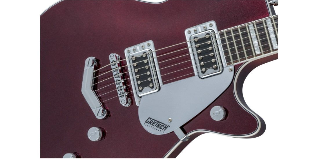 Gretsch G5220 Electromatic Series Jet with Walnut Fingerboard Dark Metallic Cherry