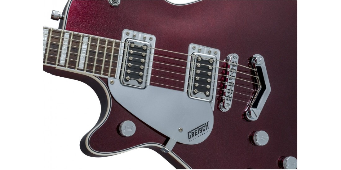 Demo - Gretsch G5220 Left Handed Electromatic Dark Cherry Metallic