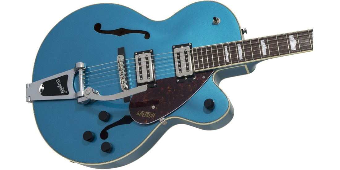 Gretsch G2420T Streamliner Hollow Body with Bigsby Laurel Fingerboard Broad Tron BT-2S Pickups Riviera Blue