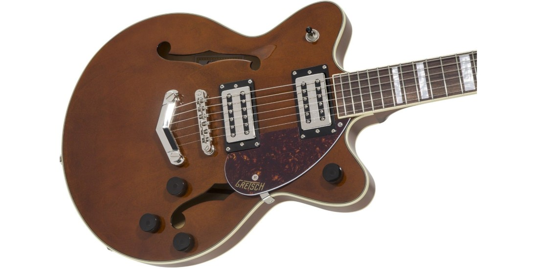 Gretsch G2655 Streamliner Center Block Jr with V Stoptail Laurel Fingerboard Broad Tron BT2S Pickups Barrel Stain