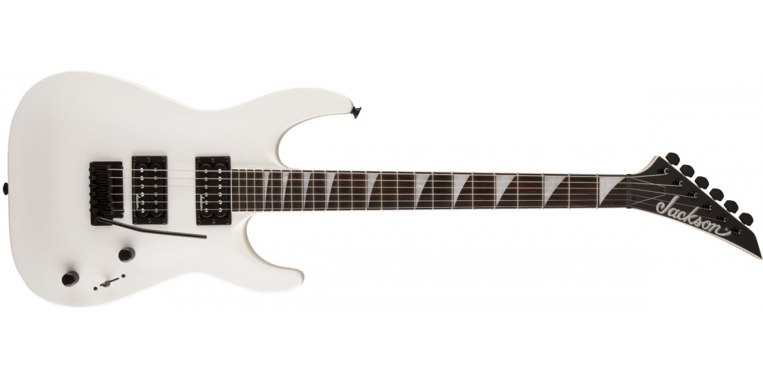 Jackson JS22 Dinky Electric Guitar Amaranth Fingerboard Snow White Finish