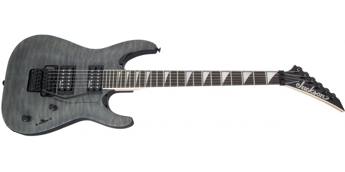 Jackson JS Series Dinky Arch Top JS32Q DKA Amaranth Fingerboard Transparent Black