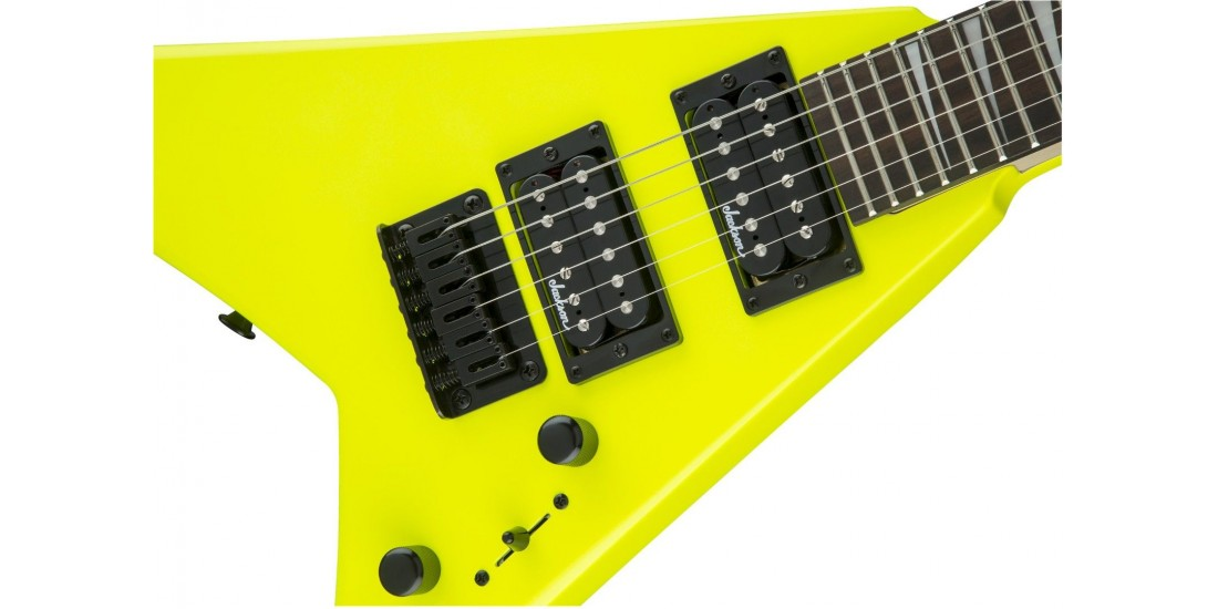 Jackson JS Series RR Minion JS1X Amaranth Fingerboard Neon Yellow
