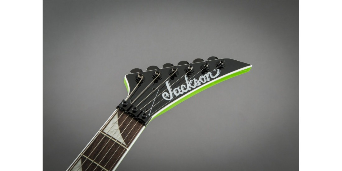 Jackson Soloist  SL3X Electric Guitar Slime Green