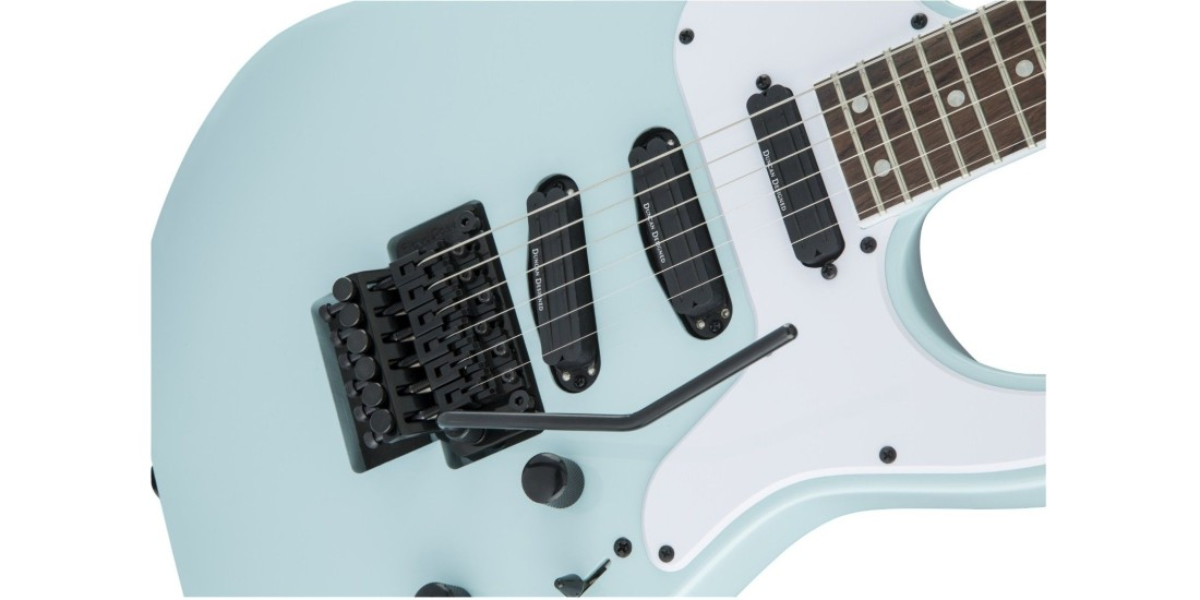 Demo - Jackson X Series Soloist SL4X Rosewood Fingerboard Daphne Blue