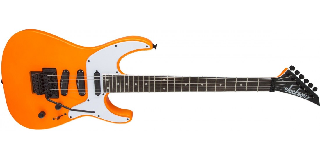 Open Box - Jackson X Series Soloist SL4X Rosewood Fingerboard Neon Orange