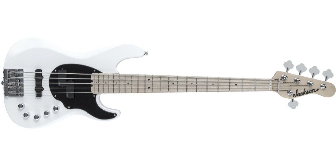 Jackson X Series Signature David Ellefson Concert Bass CBXM V Snow White