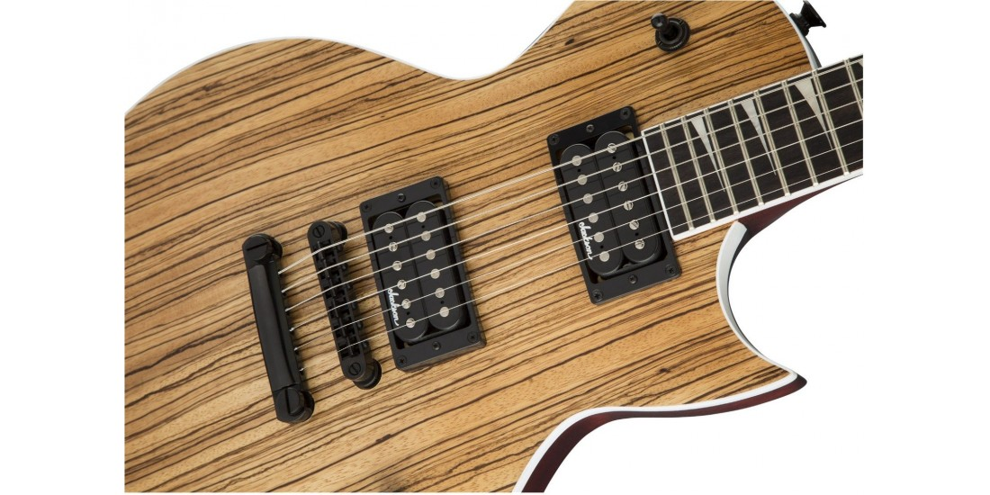 Open Box - Jackson X Series Monarkh SCX Zebrawood Rosewood Fingerboard Natural