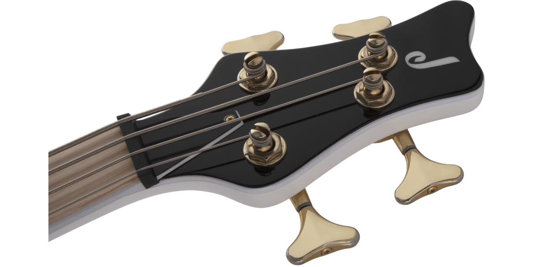 JS Series Spectra Bass JS3 Laurel Fingerboard Snow White Gold Hardware