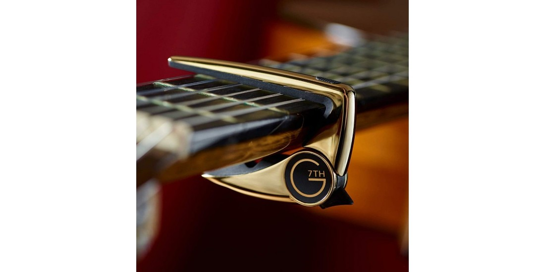 G7th Performance 3 Steel String Capo Gold Plated