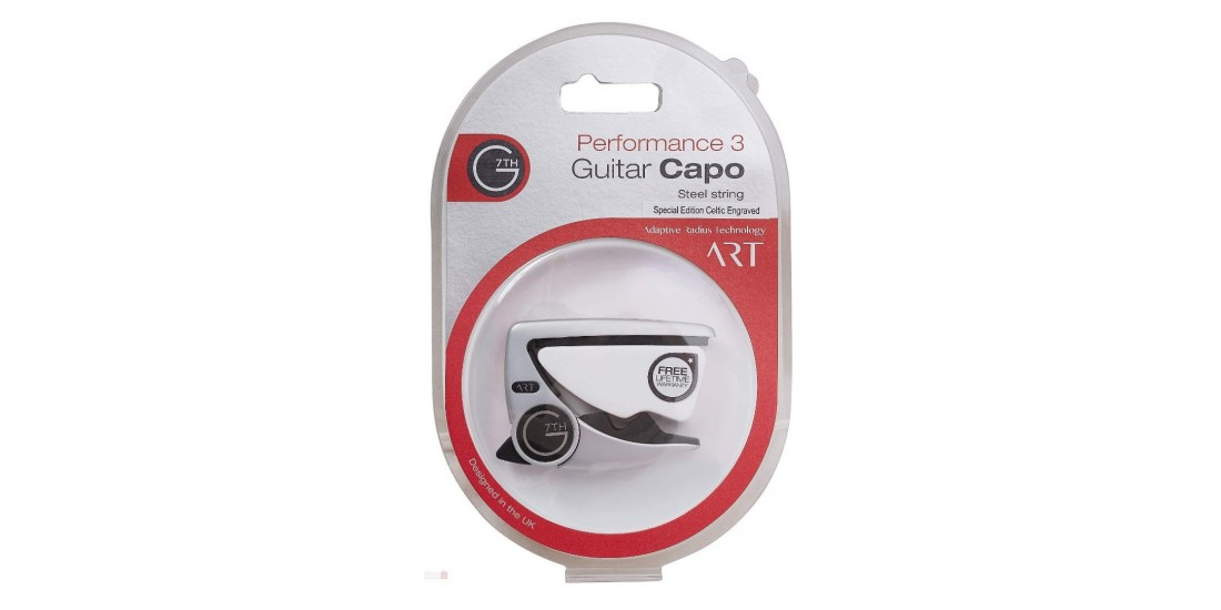 G7th Performance 3  Steel String Capo Silver