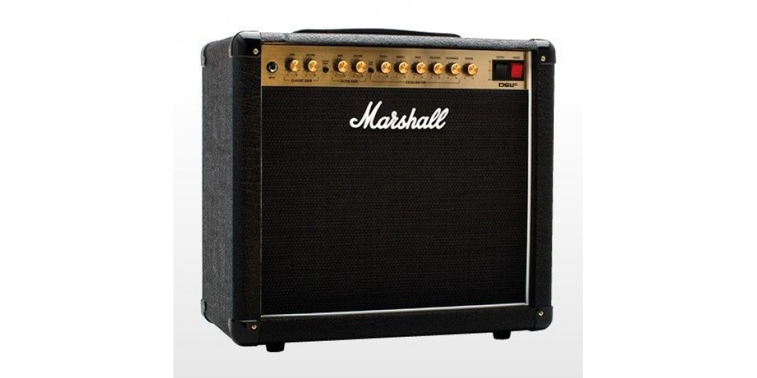 Marshall DSL20C 20 Watt All Tube Combo Amplifier Celestion Speaker