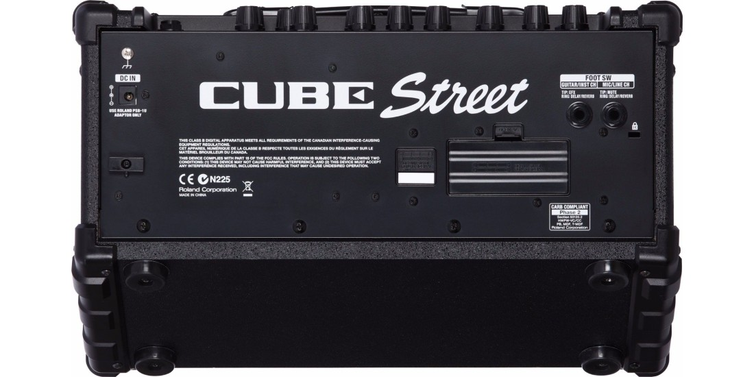 Roland Cube Street 2 Channel Battery Powered Guitar Vocal Amplifier