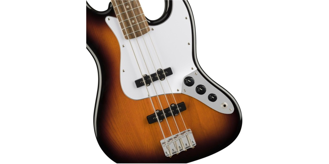 Fender Squier Affinity Series J Bass Laurel Fretboard Brown Sunburst