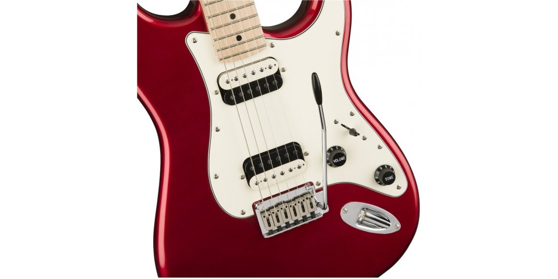 Fender Squier Contemporary Stratocaster HH Maple Fingerboard Dark Metallic Red