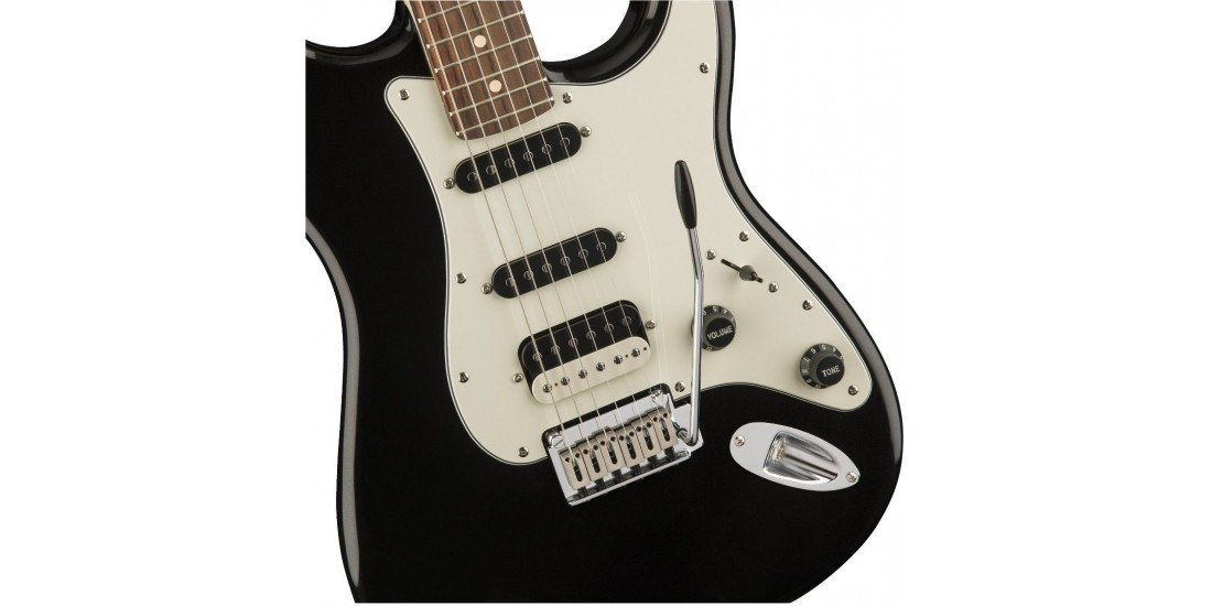 Fender Squier Contemporary Stratocaster HSS Rosewood Fingerboard Black Metallic