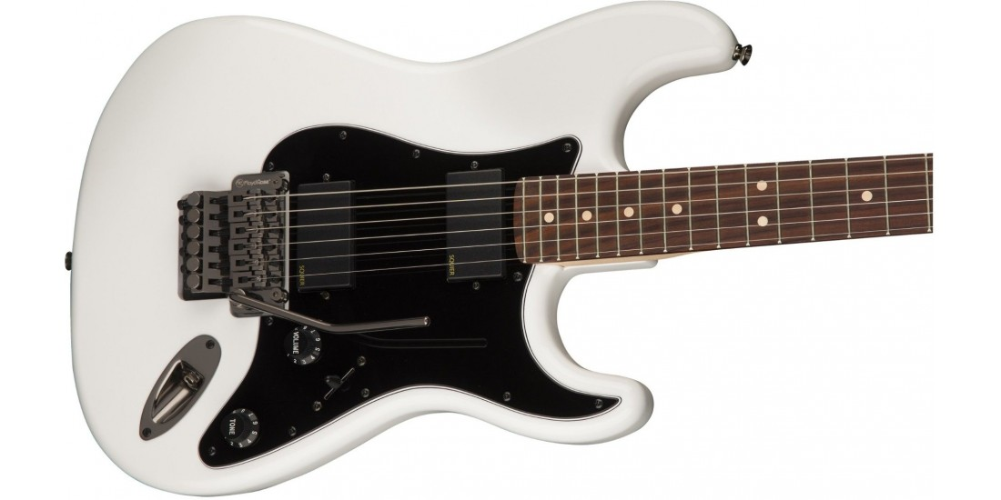 Fender Squier Contemporary Active Stratocaster HH Rosewood Fretboard Olympic White