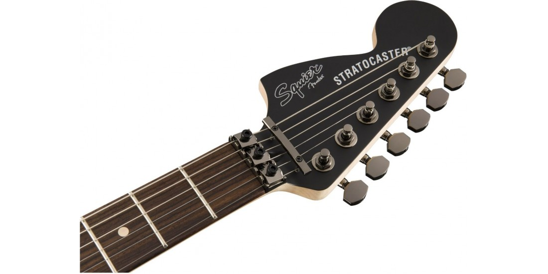 Fender Squier Contemporary Active Stratocaster HH Rosewood Fretboard Flat Black