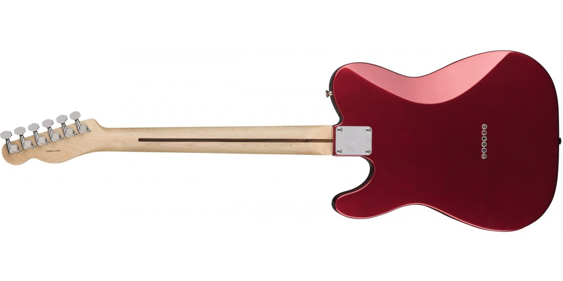 Fender Squier Contemporary Telecaster HH Maple Fingerboard Dark Metallic Red