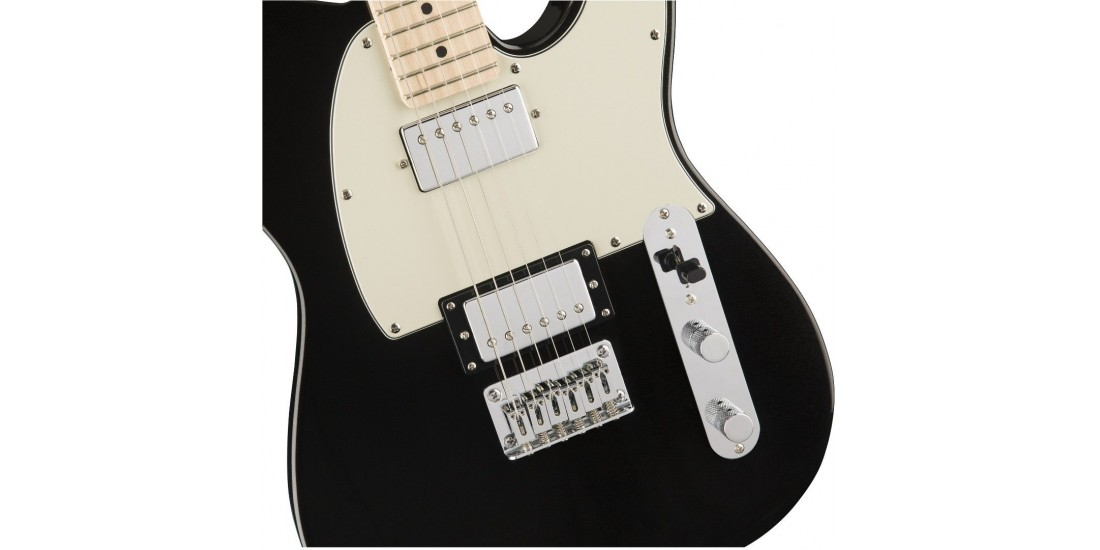Fender Squier Contemporary Telecaster HH Maple Fingerboard Black Metallic