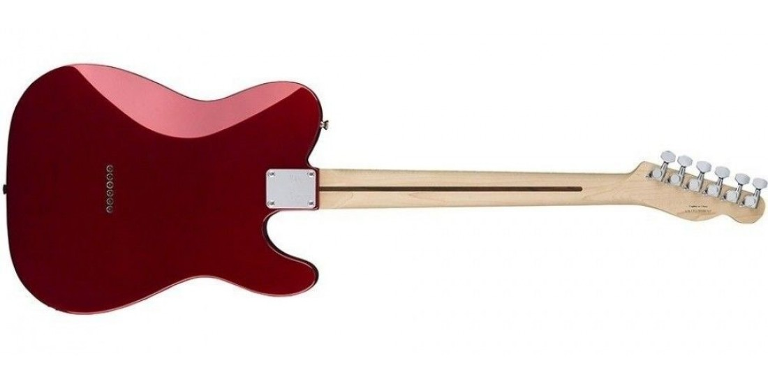 Fender Squier Contemporary Telecaster HH Maple Fingerboard Left Handed Dark Red Metallic