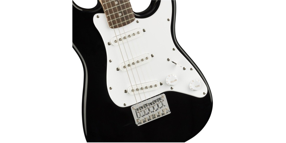 Fender Squier Mini Electric Guitar Laurel Fretboard Black