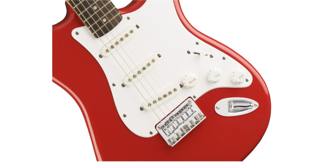 Fender Bullet Stratocaster SSS Hard Tail Laurel Fingerboard Fiesta Red