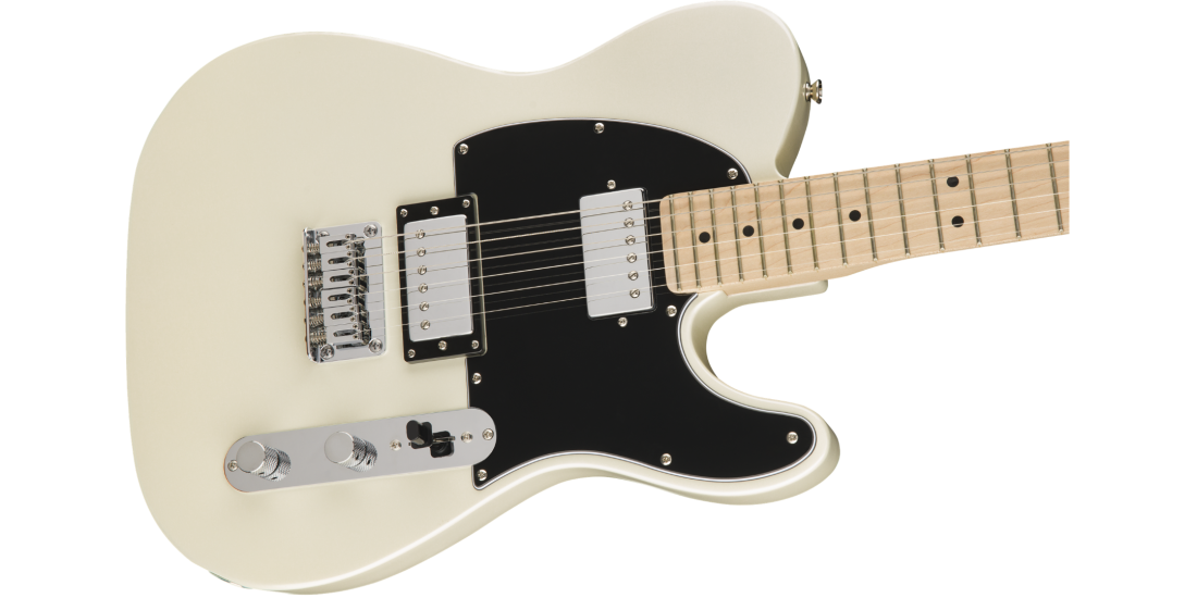 Fender Squier Contemporary Telecaster HH Maple Fingerboard Pearl White