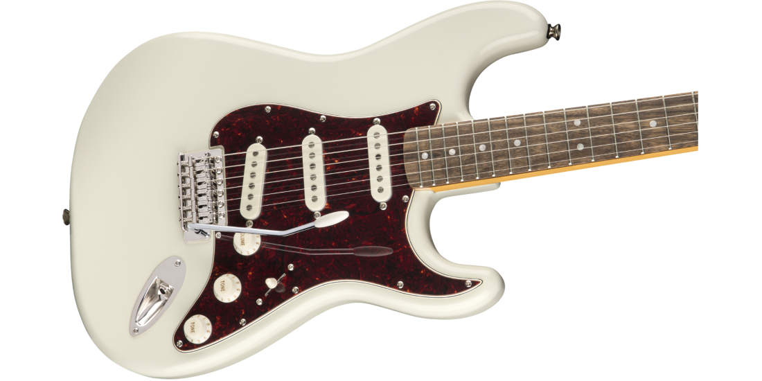 Fender Squier Classic Vibe 70s Stratocaster Laurel Fingerboard Olympic White