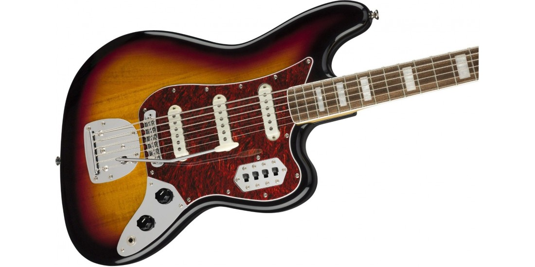 Fender Squier Vintage Modified Bass VI Sunburst Laurel Fret-Board