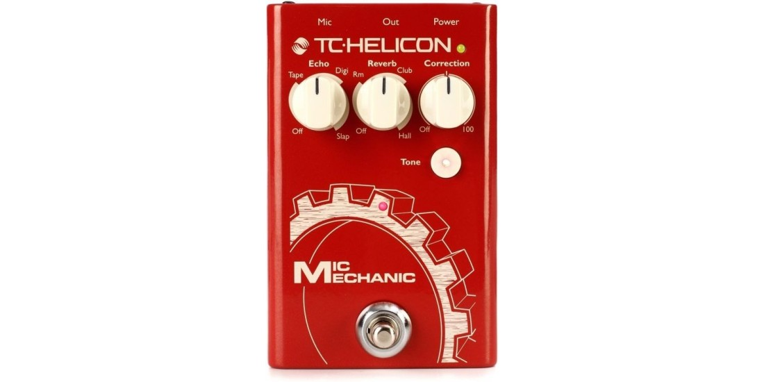 TC Helicon MIC MECHANIC 2 Vocal Processor Pedal