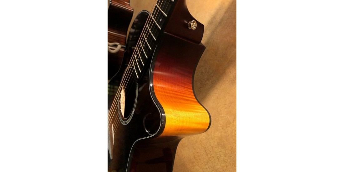 Taylor 412CE LTD 12 fret Acoustic Electric Cutaway Guitar with Hardshell Case